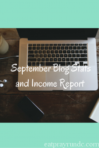 September Blog Stats and Income Report