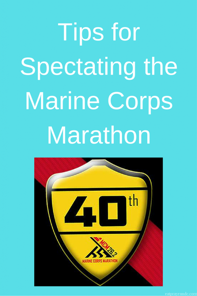 Tips for Spectating the Marine Corps Marathon