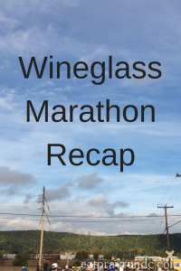 Wineglass Marathon Recap