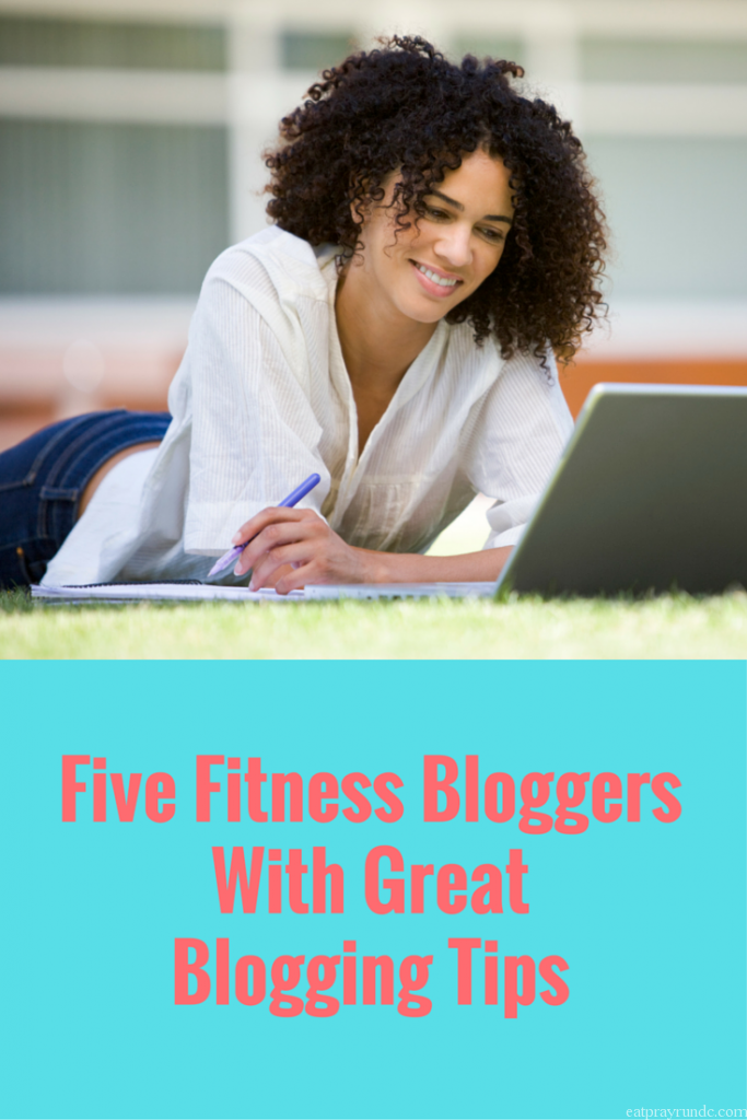 five bloggers with great blogging tips via eat pray run dc
