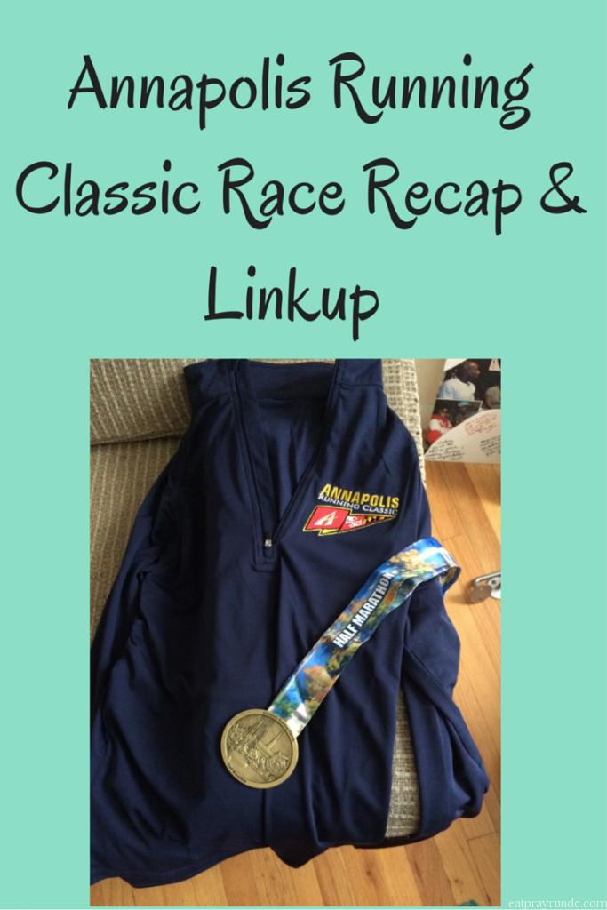 Annapolis Running Classic Race Recap & Linkup