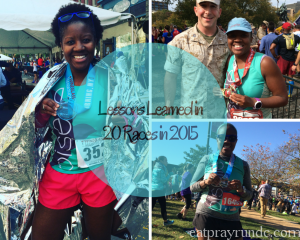 Lessons Learned in 20 Races in 2015