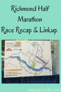 Richmond Half MarathonRace Recap & Linkup