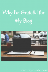 Why I'm Grateful for this Blog