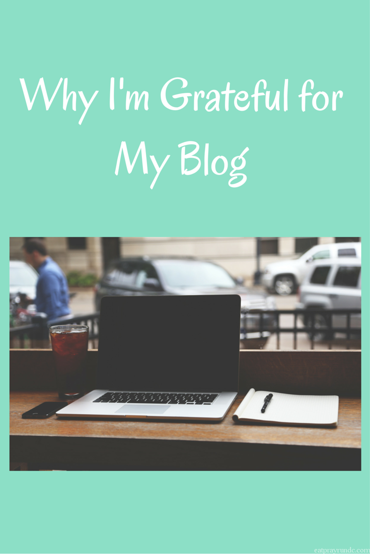 Why I'm Grateful for My Blog