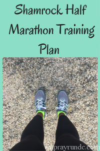 Shamrock Half Marathon Training Plan