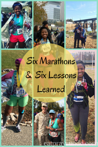 Six Marathons & Six Lessons Learned