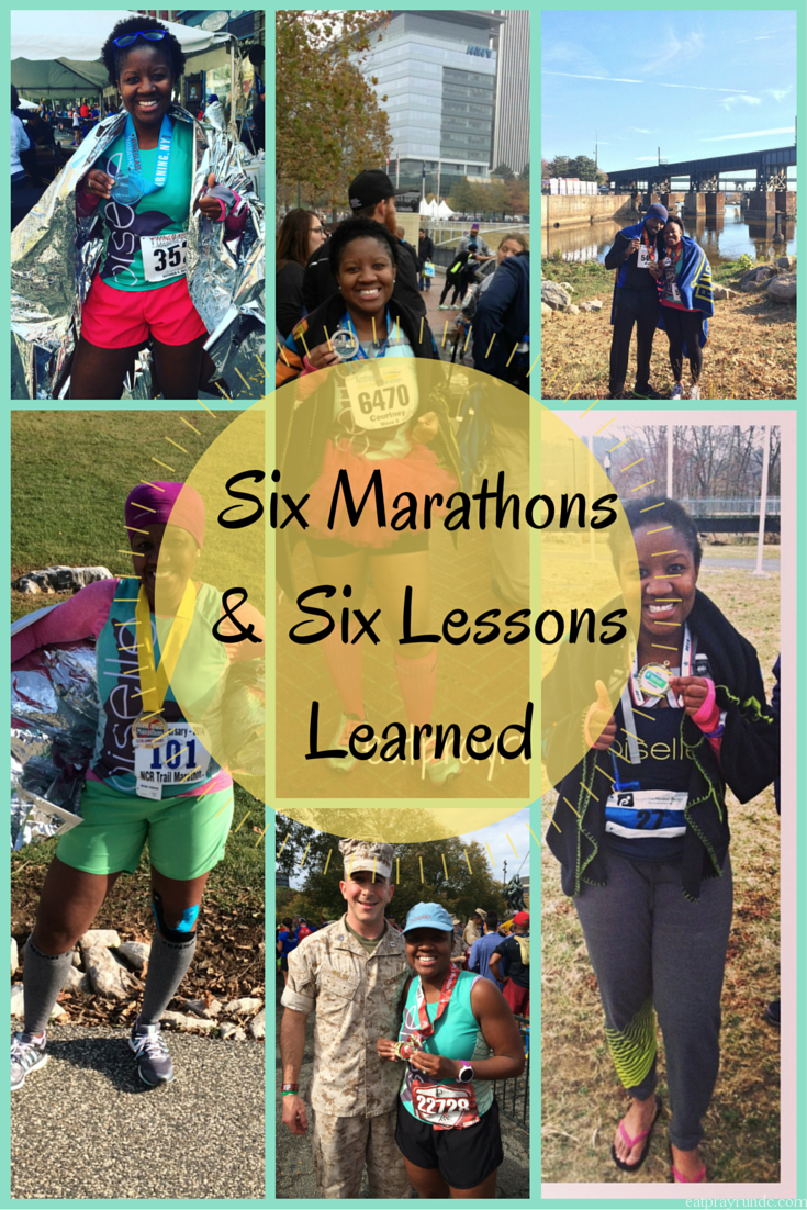 six lessons from six marathons