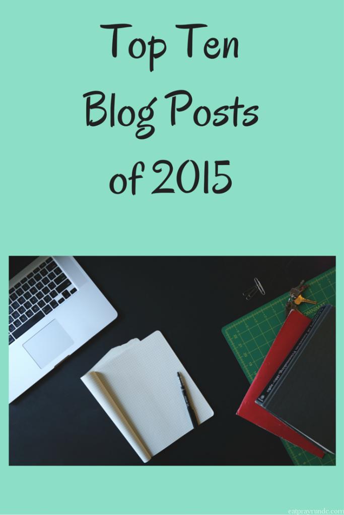 Top Ten Blog Posts of 2015