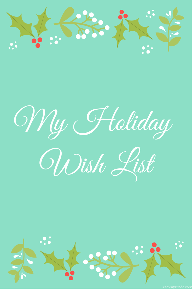 holiday wish list