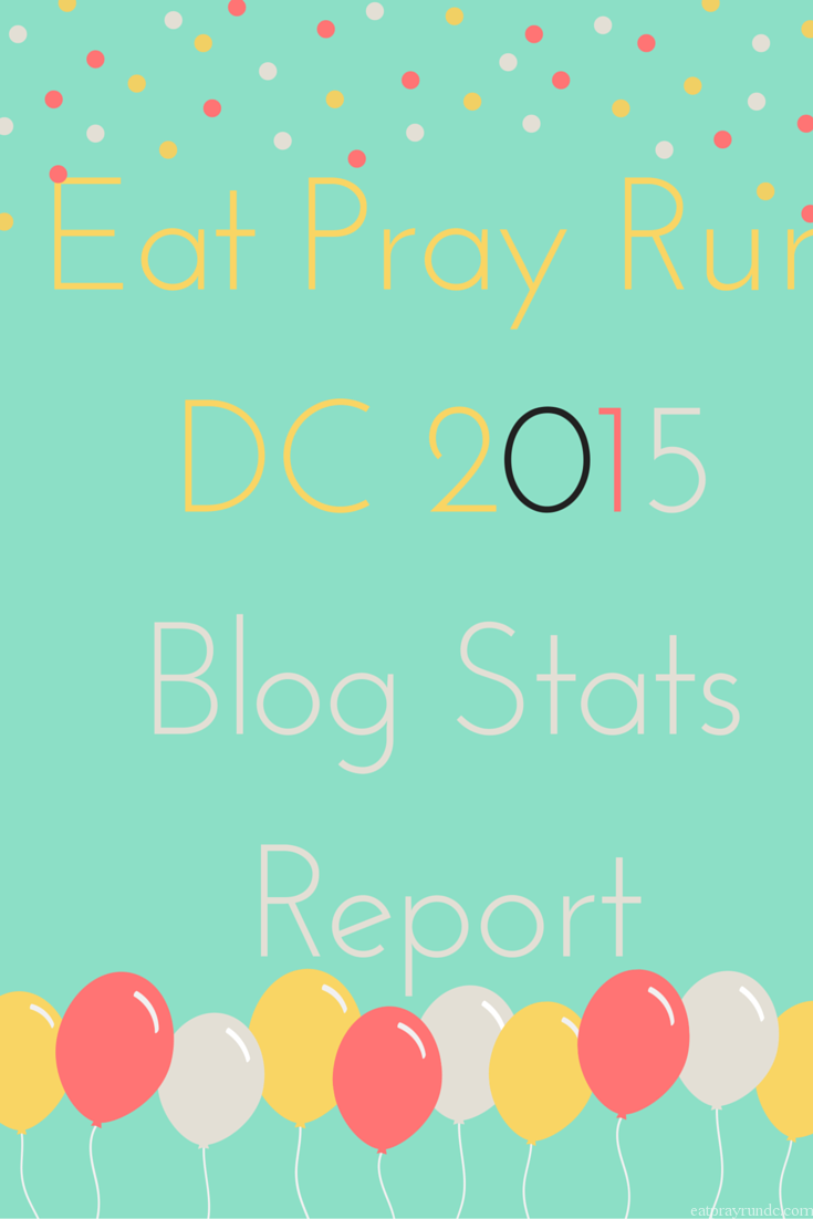 Year End Blog Stats and Income Report - Eat Pray Run DC