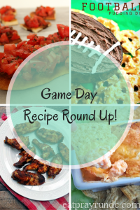 Game Day Recipe Round Up!