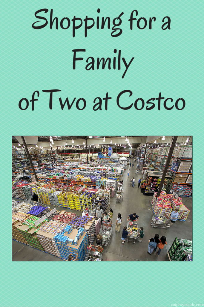 Shopping for a Family of Two at Costco