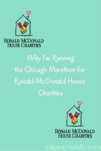 Why I'm Running the Chicago Marathon for Charity