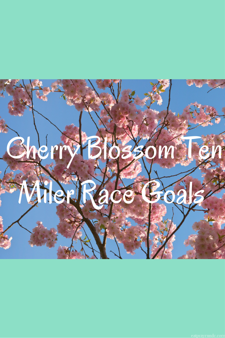 Cherry Blossom 10Miler Race Goals