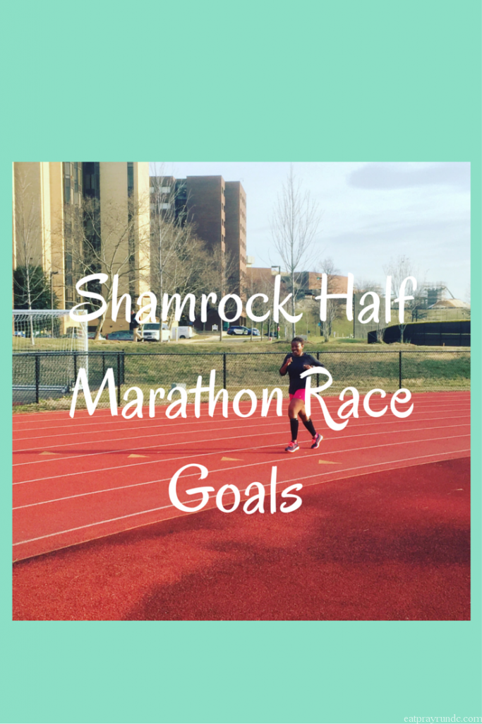 ShamrockHalf Marathon Race Goals