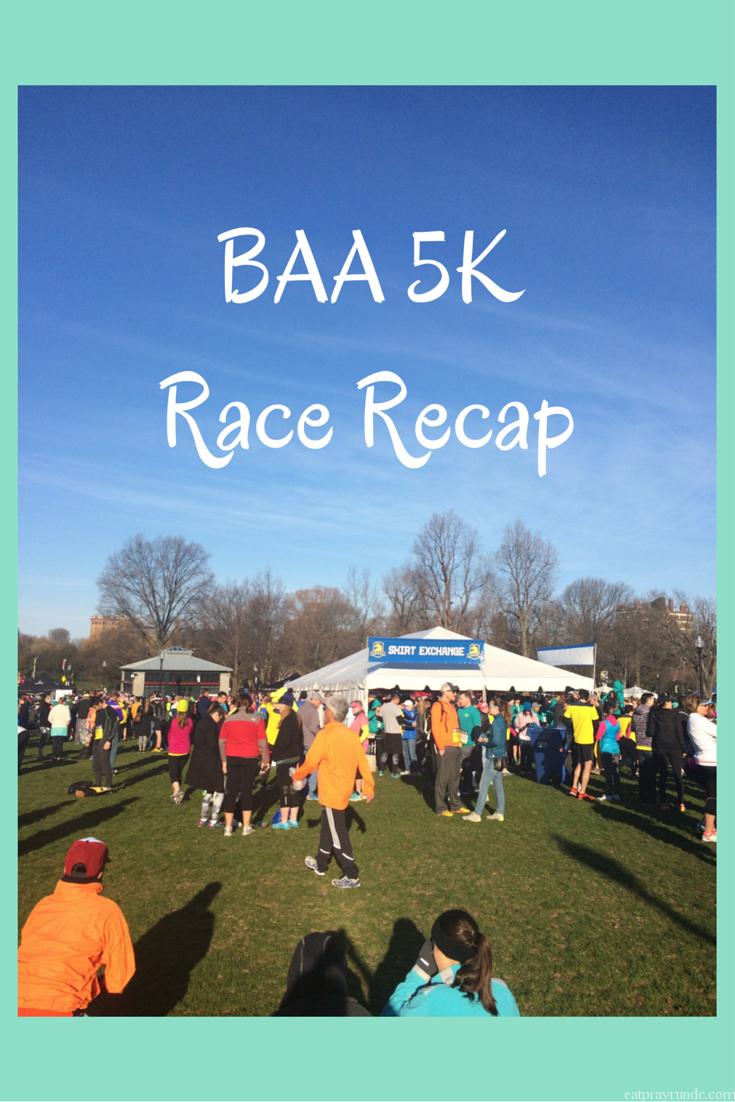 BAA 5K Race Recap