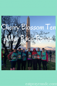 Cherry Blossom Ten Miler Race Recap