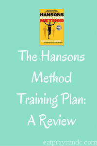 Review of the Hanson Marathon Method