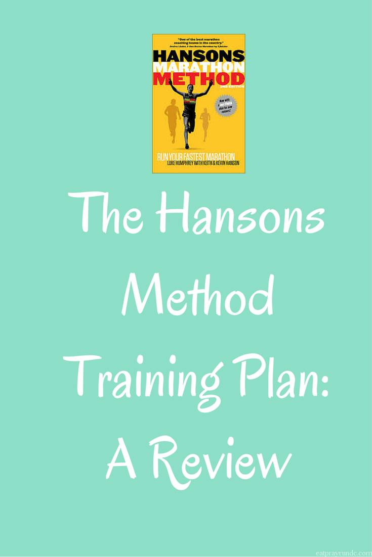 The Hansons Method Training Plan- A Review