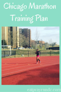 Chicago Marathon Training Plan