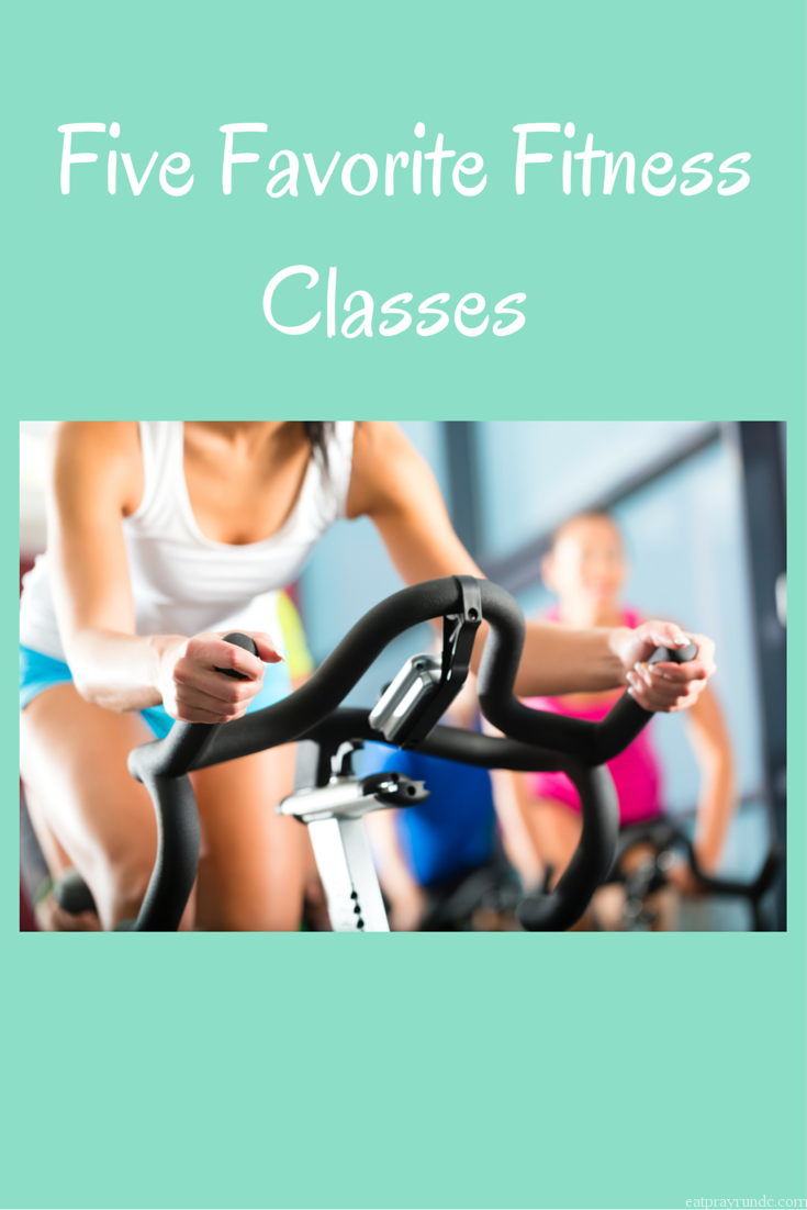 Five Favorite Fitness Classes