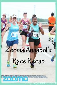 Zooma Annapolis 10k Race Recap