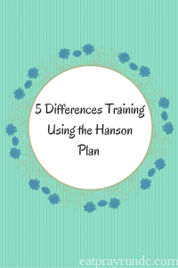What's Different Training with Hanson's Marathon Plan?