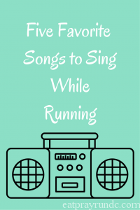 Five Songs I Love to Sing While Running