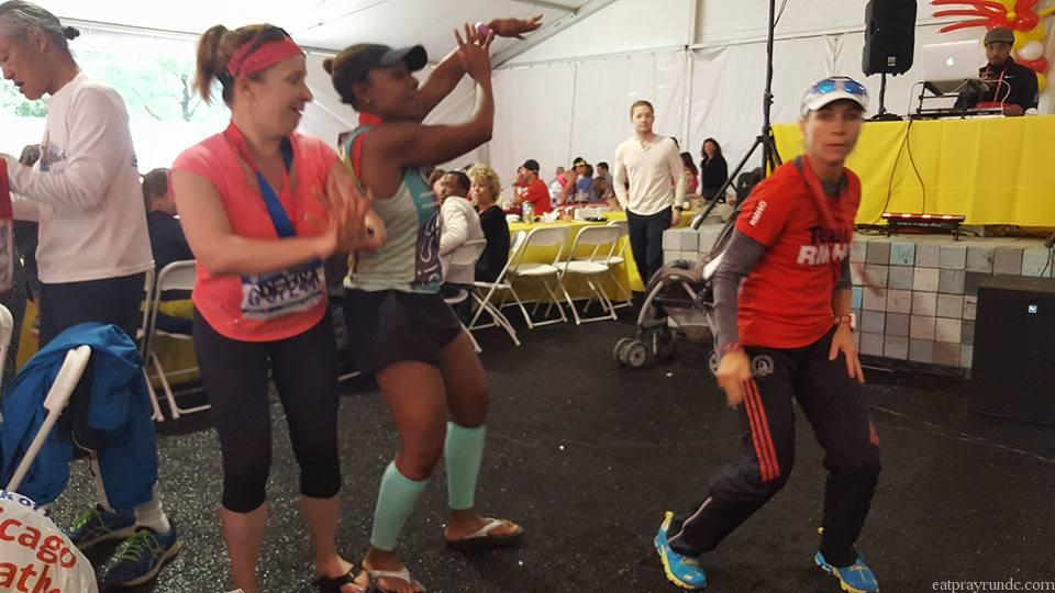 RMHC Tent post race