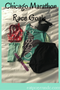 Chicago Marathon Race Goals
