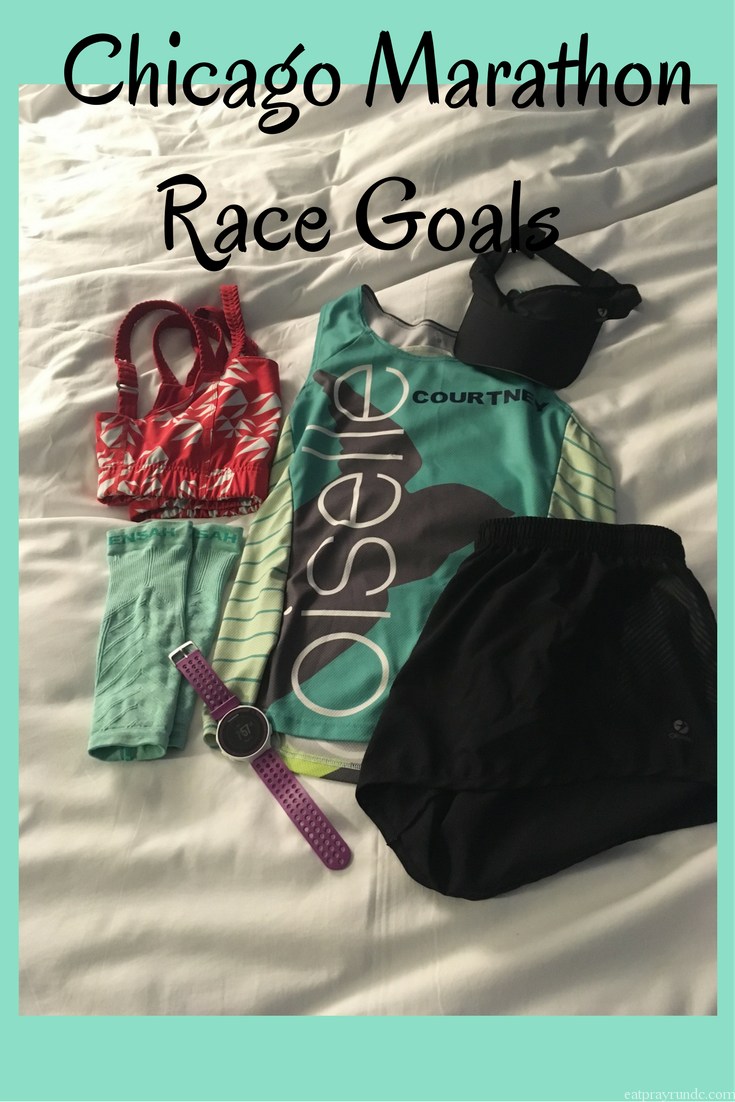 chicago marathon race goals