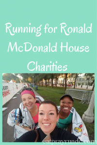 Running for Ronald McDonald House Charities