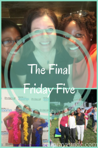 The Final Friday Five