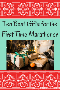 Ten Best Gifts for the First Time Marathoner