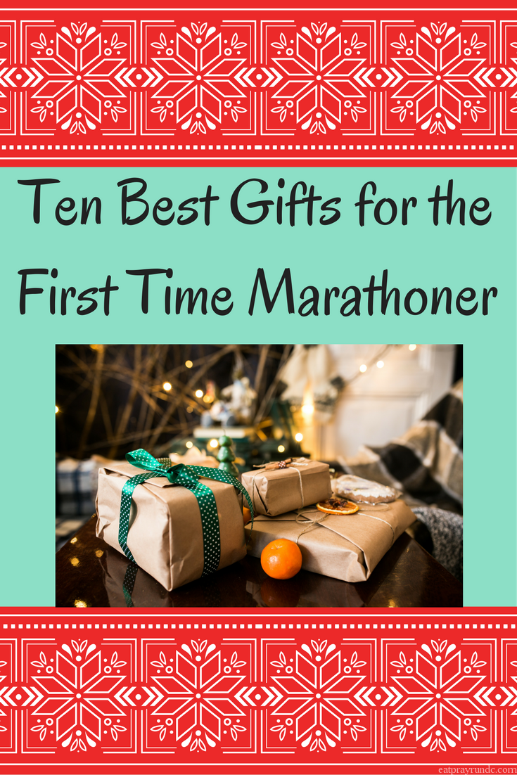 The ten best gifts for the first time marathoner in your life. Don't miss this list!