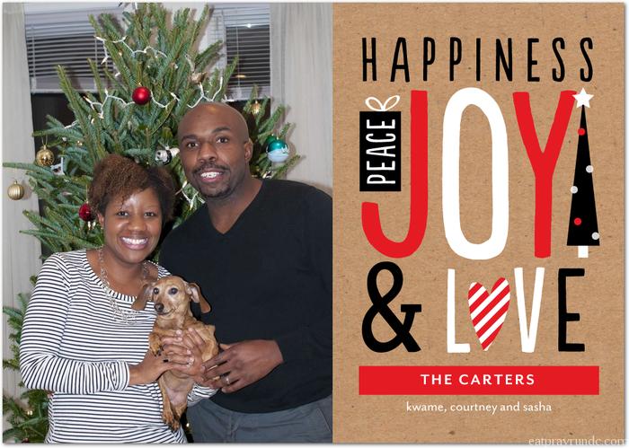 carter holiday card