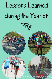 lessons learned during a year of PRs