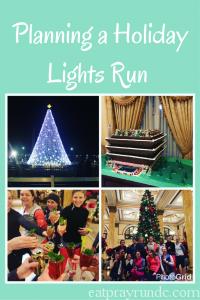 Planning a Holiday Lights Run