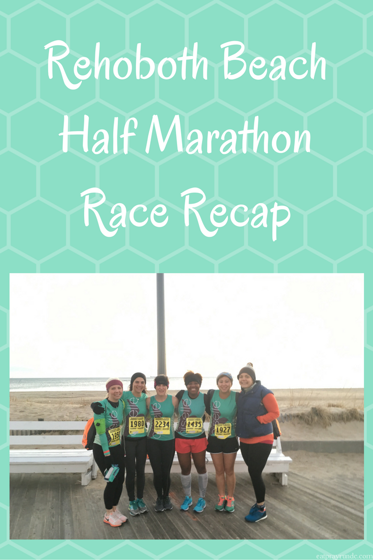 Rehoboth Beach Half Marathon Race Recap. Looking for a fun December race at the beach? Check this one out!