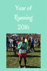 Year of Running 2016