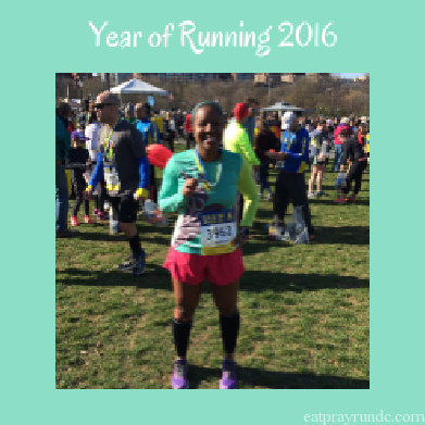 Eat Pray Run DC Year of Running 2016
