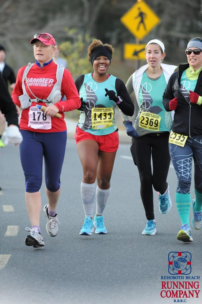 Rehoboth Beach Half Marathon with Oiselle gals