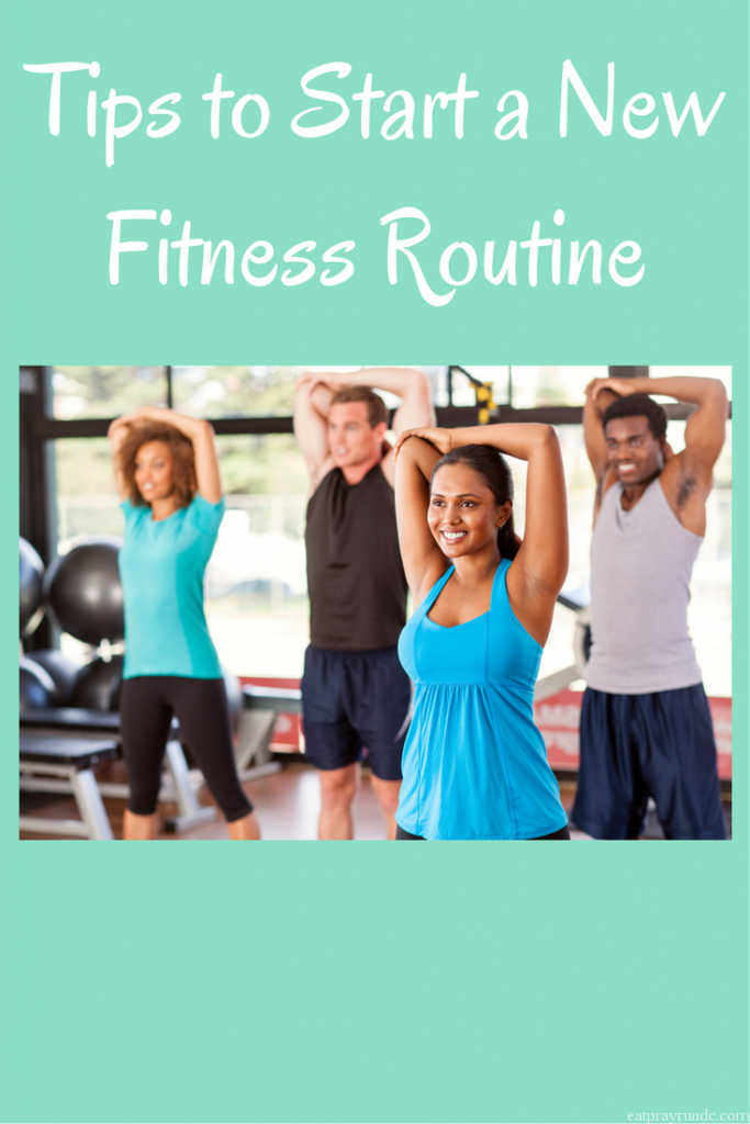 Tips for Starting a New Fitness Routine