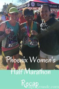 Phoenix Women's Half Race Recap