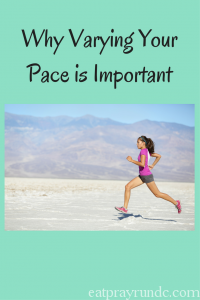 Varying the Pace on Your Training Runs
