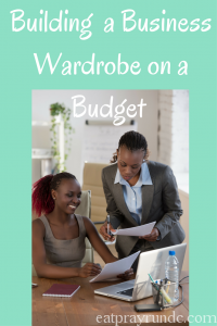 Building a Business Wardrobe