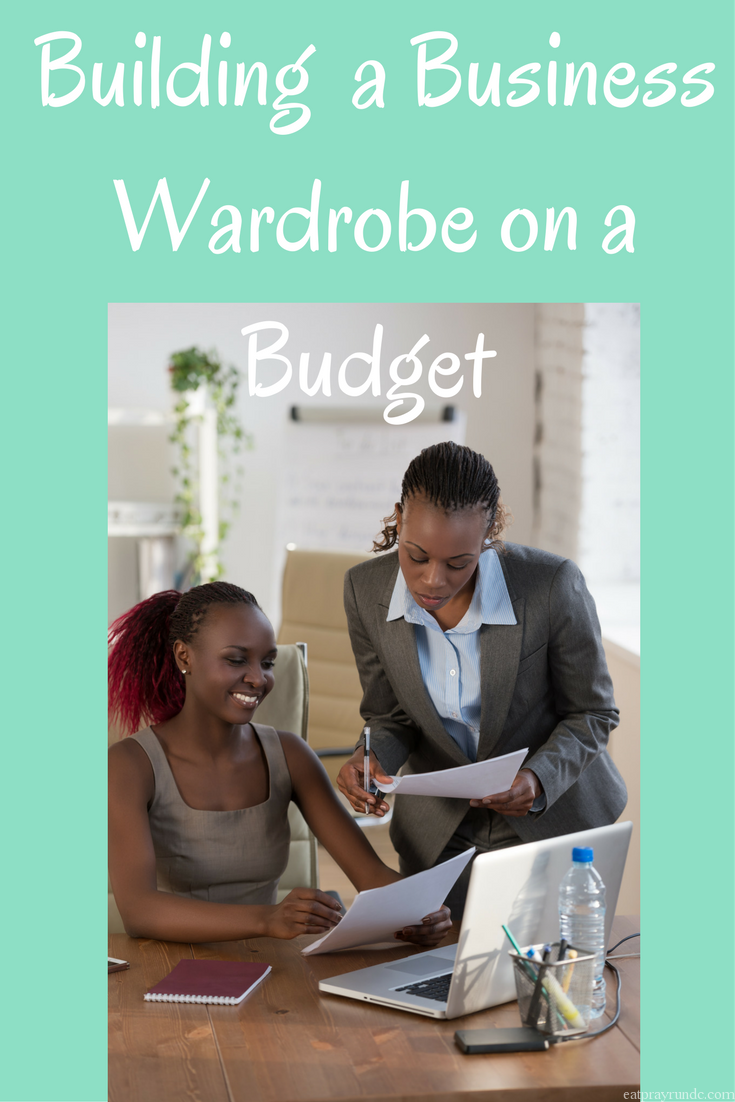 Building a Business Wardrobe on a Budget
