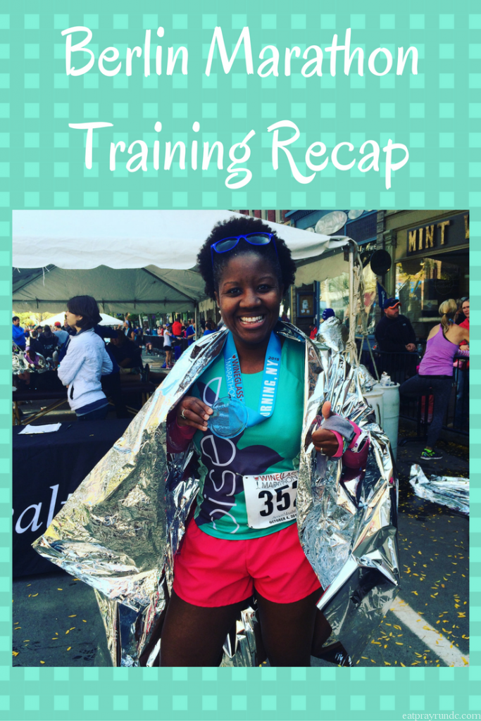 Berlin Marathon Training Recap: Week 13