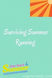 Surviving Summer Running